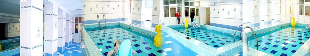 Плавательный бассейн в детском саду №240, г. Кемерово. Объём - 54 м3.